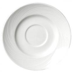 Блюдце «Спайро» d=16.5см фарфор