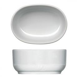Емкость для пакетиков сахара «Карат», фарфор, H=45,L=100,B=70мм, белый