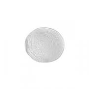 Тарелка «Арбре» D=16см; белый, матовый