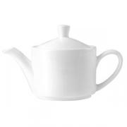 Чайник заварочный фарфор  1.1л; D=11.5,H=10,L=27см; белый