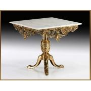 Стол квадратный цвет - золото 81х90 см