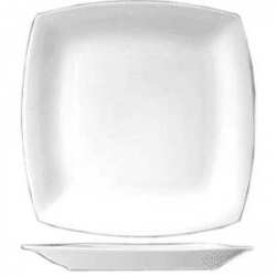 Тарелка мелкая квадр. 30.5см фарфор