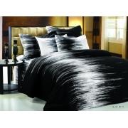 Постельное белье ARYA печатное 200х220 BLACK WHITE