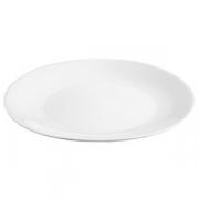 Блюдо «Алберго», фарфор, D=460,H=55мм, белый
