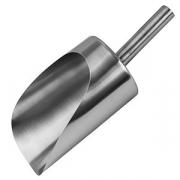 Совок «Проотель», сталь, 1.3л, L=32/20см, металлич.