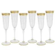 Набор: 6 бокалов для шампанского Прага