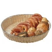 Корзина плетен. для хлеба d=48см