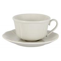 Чашка с блюдцем Villa (белая) без инд.упаковки