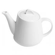 Чайник «Перла», фарфор, 500мл, белый