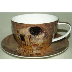 Чашка с блюдцем «Поцелуй»