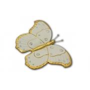 Декоративное изделие Бабочка(белая)