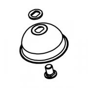 Конус прижимн. в сборе к соков.10CC; сталь; D=85,H=40мм; металлич.