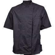 Куртка поварская разм. M без пуклей полиэстер, хлопок; черный