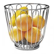 Корзина для фруктов; сталь нерж.; D=21.5,H=20см