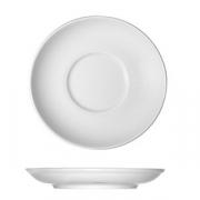 Блюдце «Опшенс», фарфор, D=18см, белый