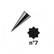 Насадка конд. «8-конечная звезда»; сталь нерж.