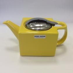 Чайник с ситечком 480мл цвет: Желтый