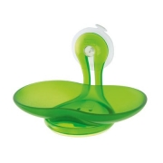 Держатель для мыла LOOP Koziol 90 х 140 х 90мм (прозрачный зеленый)