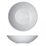 Тарелка глубокая «Опшенс», фарфор, D=18см, белый