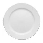 Тарелка мелкая «Меркури», фарфор, D=21,H=2см, белый