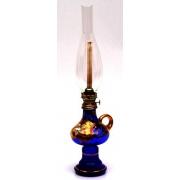 Лампа керосиновая «Лепка синяя»