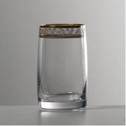 Набор стаканов 1/6 «Идеал» 250 мл; вода; панто золото