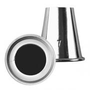 Насадка конд. «Круг», сталь нерж., D=35/20,H=40мм, металлич.