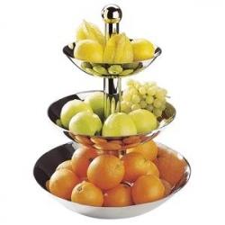 Ваза для фруктов и десерта 3-х ярусн.