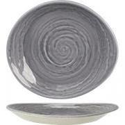 Тарелка пирожковая «Скейп грей» D=15.5см; серый