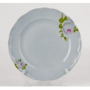 Набор тарелок 24 см. 6 шт. «Алвин голубой»