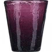Стакан «Колорс» стекло; 310мл; фиолет.