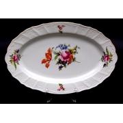 Блюдо овальное 36 см «Полевой цветок 5309011»