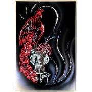 Жар-птица, 40х60 см, 2470 кристаллов