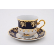 Набор для кофе «Мэри Энн 0431» (чашка 150 мл. +блюдце) на 6 перс. 12 пред.