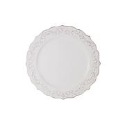 Тарелка обеденная Винтаж (белый)