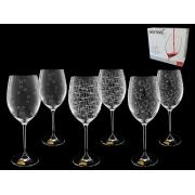 Набор бокалов для вина 3х2 Wintime, Гранд микс