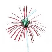 Трубочка «Пальма с цветочком»,50шт