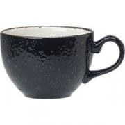 Чашка чайная «Крафт лакрица» фарфор; 227мл; черный