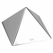 Форма конд «Пирамида«9*9*6.3см нерж.