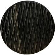 Доска для подачи круглая без ручки «Колос» темный дуб