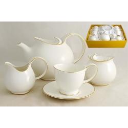 Чайный сервиз из 15 предметов на 6 персон «Грейс»
