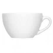 Чашка кофейная «Бистро», фарфор, 90мл, белый