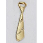 Открывашка галстук цвет - золото 13см
