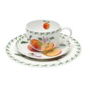 Набор: чашка, блюдце, тарелка Яблоко в подарочной упаковке