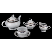 Сервиз чайный 165 мл. на 6 перс. 15 пред «Тулип 71300»