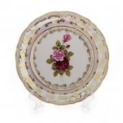 Набор тарелок 24 см. 6 шт. «Роза»