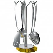 Набор кухонных аксессуаров Casa Bugatti Glamour ø17см (жёлтый)