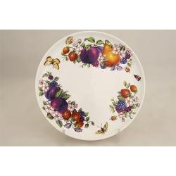 Тарелка 21 см «Фрукты и ягоды»