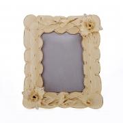 Рамка-зеркало «Цветы» 30x25x5 см