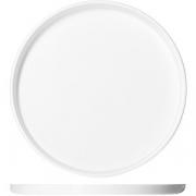 Блюдо круглое с бортом «Кунстверк» D=20см; белый